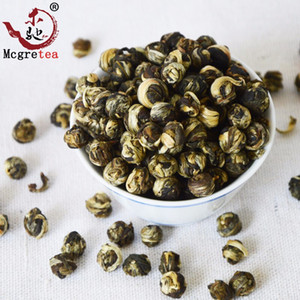 2020 muito bom china chá 250g Blooming 100% JASMINE DRAGON PÉROLAS TEA GRÁTIS Shippping Chá Verde