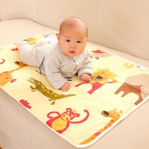 2019 Gear Safety & Gear Hot Sale Baby Waterproof Urine Pad Diaper Changing Mat Cover 75x120cm Breathable For Bed Baby Accessories