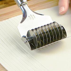 mucchio Pasta Cutters Manuale di taglio Noodle coppapasta strumento coltello Spaghetti Maker Roll Crusher in acciaio inox macchina della tagliatella Maker pasta ...