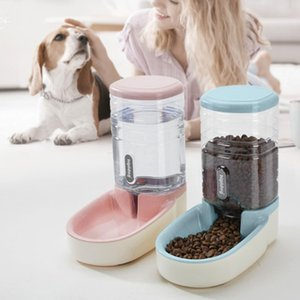 Feeder Holder Pet Accessories Large Capacity Pet Drinking Fountains Pet Water Feeder Creative Multifunctional Puppy Bowl