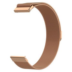 스테인레스 스틸 활성 활성이 스테인레스 자기 조절 30PCS / LOT 팔찌 금속 루프 밴드 스트랩 삼성 은하 시계 메쉬