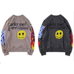 2020 novos homens e mulheres camisola Hoodies de Drew Casa Sorriso impressão manga comprida Hoodie Justin Bieber Estilo Hoodies Streetwear