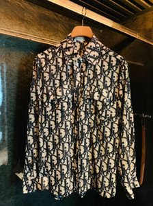 2020 Superior quality Men brand shirts runway look print long sleeve plus size 3d dress shirt designer luxury shirts men's clothing