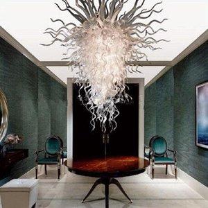 Горячая продажа Contemporary Art Glass Люстра освещений Цветные Жилое стекла Люстра для партии рождественские подарки выдувное стекло лампы