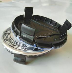 100pcs 75mm 3pin bleu foncé noir complet centre de roue noir cache-moyeux Hubcap Couvre jantes emblème insignes Cap A1714000025 ou CLA CLS A B C E S CLK