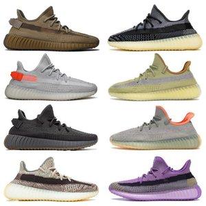 2020 Kanye Asriel israfil cinder marsh reflective men running shoes yeshaya yecheil zyon oreo linen desert sage flax women trainer sneakers