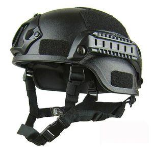 Qualité légère FAST Casque MICH2000 Airsoft MH tactique Casque extérieur tactique Painball CS SWAT Riding Equipment Protect Livraison gratuite