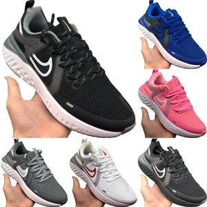 2020 Leyenda Reaccionar 4.0 de malla transpirable zapatos deportivos originales Leyenda Reaccionar Shield Tech Buffer burbuja de los zapatos corrientes