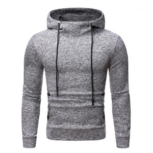 Pullover Males Clothing Solid Color Mens Designer Hoodies Casual Snow Pattern Drawstring Sports Mens Hoodies Fashion