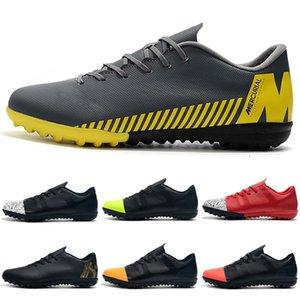 2019 kapalı futbol ayakkabı Mercurial VaporX VII Pro TF IC cr7 futbol Çocuk Kadın erkek futbol cleats Mercurial superfly chuteiras de futebol