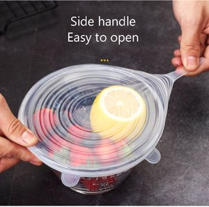 Silicone fresh covers universal bowl cover household microwave heating cover leftovers leftovers refrigerator sealed health cover