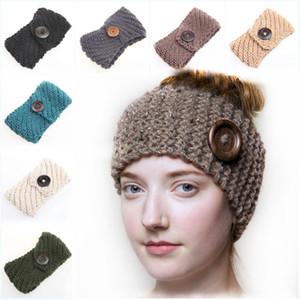 Große Holzschnalle Haarband Strickwolle Stirnband Frauen Manuelle Webart Haare Band Gut Verkaufen Mit Verschiedenen Stil 6 3ym J1