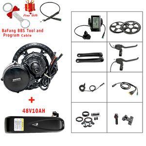 48V 500W 8fun Bafang Motor BBS02B Center Mid-drive  Crank Motor