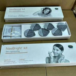 Facial 10X Sauerstoff-Maschine Neebright Kit zur Hautaufhellung und 10X Austauschbare Derma Stift 12/36 Nadel Cartridges