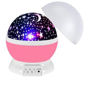 3D étoile Led Night Light Projector Lune Lampe LED Enfants Starry Night bébé Lampes pour enfants Kids Party Supplies DHL SHIP WX9-1844