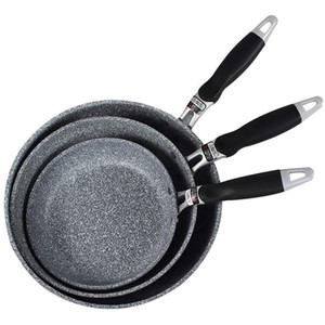 Panque de riz de style japonais Pan Panque antiadhésive anti-bâton avec poignée anti-échappée de poêle à fourrière