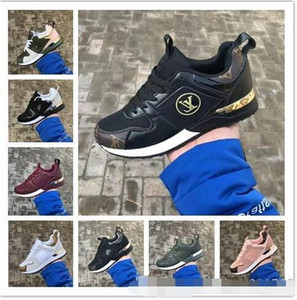 Marca para hombre y para mujer Zapatos para caminar ocasionales Unisex Moda Corte bajo con cordones Diseñador Snekaers Hombre Mujer Zapatillas Zapatos deportivos 36-44