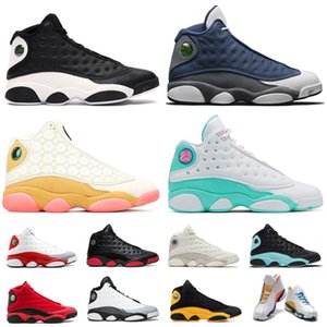 Air retro jordan 13 13 s Man Basketballschuhe COURT PURPLE Cap und Kleid Herren Classic Sports Sneaker Trainer Atmungsaktive Schuhe