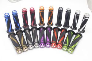 السيطرة 100 زوج العالمي 7/8 بوصة '' 22mm و موتوبيكي موتو BAR END الوزن دراجة نارية الألومنيوم قبضة المقود المطاط BIKE GEL HAND