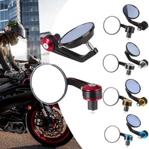 """1 Paar 7/8 """"Universal Motorrad Rückansicht Lenkerende Seitenspiegel"""