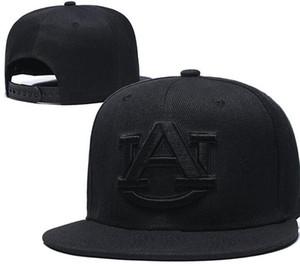 NCAA tigres de Caroline du Nord aurburn hommes chapeaux Alabama casquettes Reflective design USA College Lettre A D Logo Casquettes ajustables