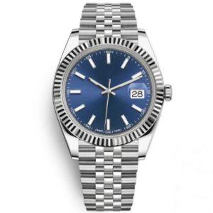 Top Sports Mens relógios automáticos mecânica Fashion Business Relógios 36 milímetros de aço inoxidável ouro 2.813 movimento de pulso 30M impermeável