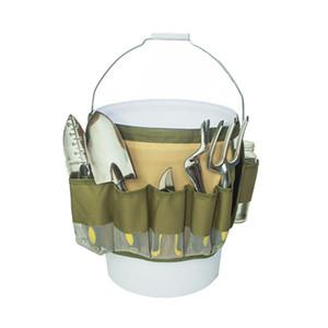 outil de jardin seau organiseur rangement d'outils de jardin portable Tissu Oxford Jardin Seau Sac à outils Outils de jardinage Kit de rangement Organisateur