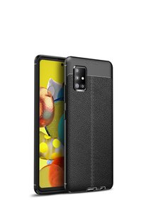 Galaxy A51-5G pattern business soft tpu model fashion business complete all-inclusive anti-fall phone cover