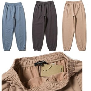 Temporada 6 West pantalón MenHigh Calidad season6 pantalón Hip Hop con cordón de los pantalones de chándal Joggers1