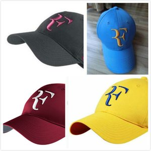 2019 Roger Federer RF Hybrid Baseball Baseball caps men women Roger Federer RF Hybrid Hat tennis racket hat cap racquet adjustable