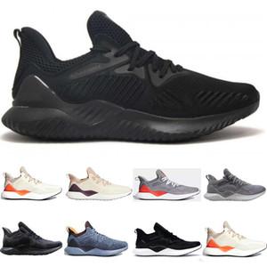 Fashion AlphaBounce Beyonds Marbles Shark Outside Running Shoes Black White Alpha Khaki Bounce Mens Women Designer sport sneakers 36-45