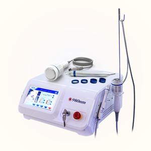 Hohe Qualität 980nm Diode Laser Spinne Venenentfernung Maschine 980 Diode Vascular Laser Entfernung Salonl Spinne Venenentfernung Diode Laser-Ausrüstung