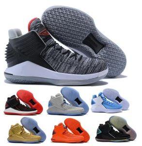 Китайский Новый год 32 32s Полет Баскетбол обувь для мужчин Mens серый Finale Jumpman XXXII высокого качества 2020 Zapatillas Кроссовки Обувь Кроссовки