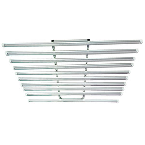 LED Grow Light Bar Fixture 360W Full Spectrum LED Grow Light 120cm serre hydroponique Medica 10 dans 1 192 * 0.5W Tube usine Cultivez