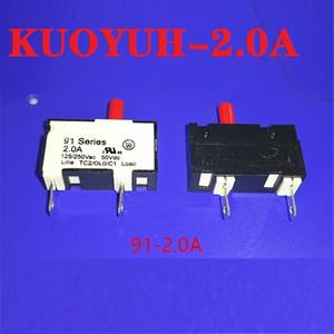 Taiwan KUOYUH protetor de sobrecarga de corrente pequena 91-BPR-2.0A instrumento protetor
