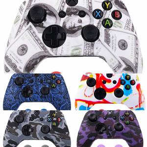 6u8a7 doppio colore Pollice Silicon Grip Silicon Cap Joystick Case Cover Stick Cap per PS4 una Xbox PS3 Xbox 360 Controller