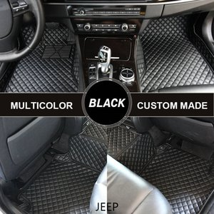 Custom Car Tapetes para Jeep Grand Cherokee 2014 Jeep Renegade Commander 2007 Compas Liberdade 2007 Cherokee 2000