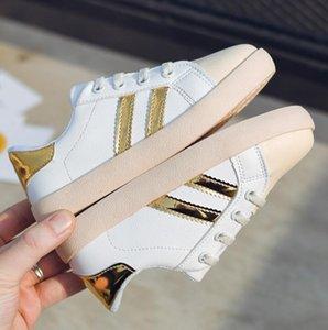 أحذية الأطفال ربيع جديد وخريف عام 2020 Boys'Little White Shoes، Girls Leisure Leisure، Korean Sports Shoes for Students