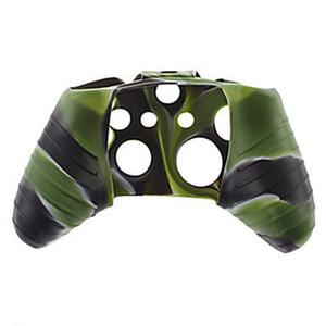 Pour le caoutchouc de caoutchouc de caoutchouc de caoutchouc de camouflage flexible de Xbox One Sofbox One pour la couverture de l'adhérence Xbox One Slim Controller