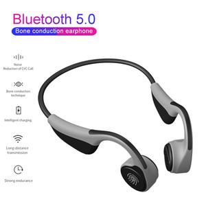 V9 Casque Bluetooth 5.0 sans fil Casques os Conduction sport écouteurs mains libres étanche PK Z8 casque sans fil pour téléphone portable