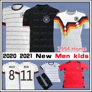2020 2021 독일 축구 Trikots 레 우스 베르너 뮬러 드락 슬러 남성 kdis 홈 원정 유니폼은 camiseta 드 Futebol 팀