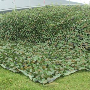 1.5x6m 2x5m 2x6m 5x3m Camping Camo Net Army Woodland Jungle Camouflage Nets Hunting Shooting Shelter Hide Netting Sun Shelter