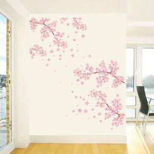 Sanat Salon Ev Dekorasyonu Koltuk Arkaplan Sigara Toksik Ağacı Desen Odası PVC Kolay Temizlik Romantik Duvar Sticker Çiçeği Çiçek