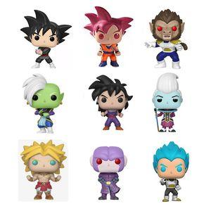 Funko Pop Amine Dragon Ball Vegeta Goku Vinyl Action Figure Collectible Model Toys For Children With Original Box CX200703