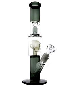 Bongos De Vidro Com Crânio Bongo Tubos De Água De Vidro Copo De Espessura De Alta Bongo Bongo