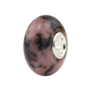 مجوهرات ديي 925 الفضة الاسترليني الطائرة الحجر الطبيعي الخرز سحر الخرزة صالح الأوروبي القزم سوار مجوهرات جعل حرية الملاحة