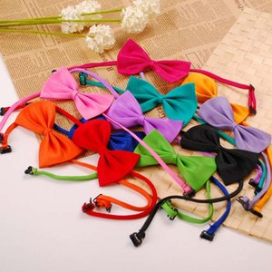 Newest Pet Dog Cat Necklace Adjustable Strap for Cat Collar Dogs Accessories Pet Dog Bow Tie Puppy Bow Ties Dog Pet Supplies