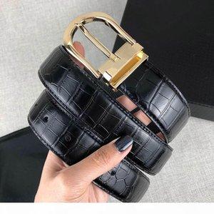 Crocodile Veias Cintos Designer de Luxo Belt para homem Moda Marca MontB-Hexagon Needle Buckle Altamente qualidade com caixa e Handbag2019