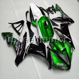 Custom + Gifts ABS verde nero carena YZFR1 04-06 YZF-R1 2004 2005 2006 pannelli moto per Yamaha