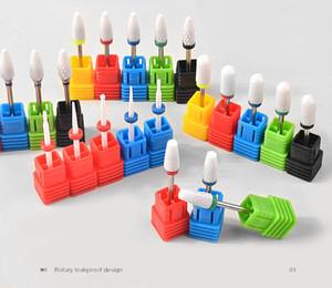 1pcs Drill ongles en céramique Bit 23 Type manucure machine Fraises Manucure Pédicure machine électrique Nail Drill